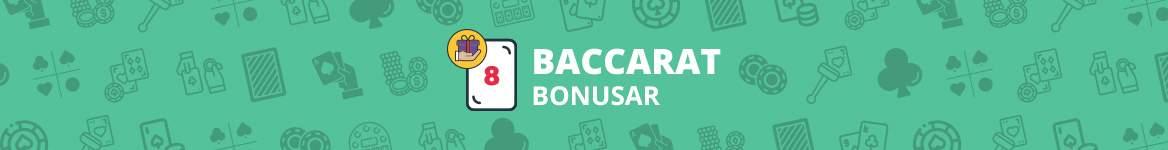 Baccarat bonusar