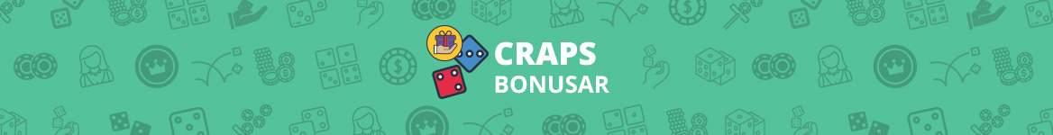 Craps bonusar