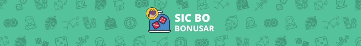 Sic Bo bonusar