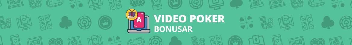VideoPoker Bonusar