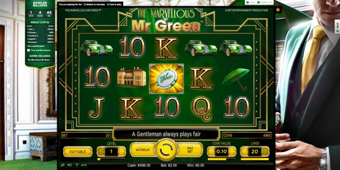Mr Green casinospel