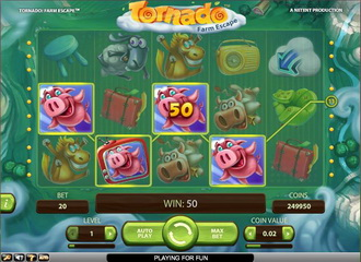 Tornado Farm Escape - Rizk Casino