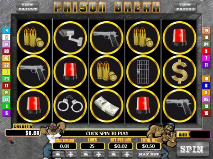 Prison Break är ny video-slot från Soft Magic Dice!