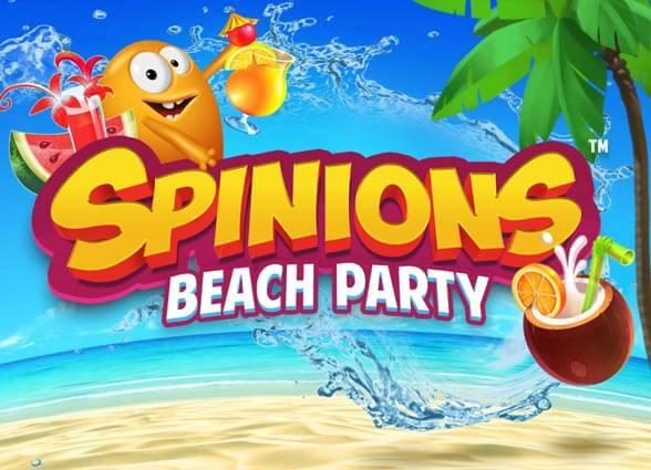 Spinions Beach Party en ny casino slot från Quickspin