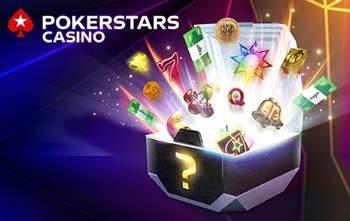 Pokerstars slots ikoner i en kista