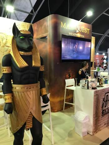 MAx Quest, egyptisk staty